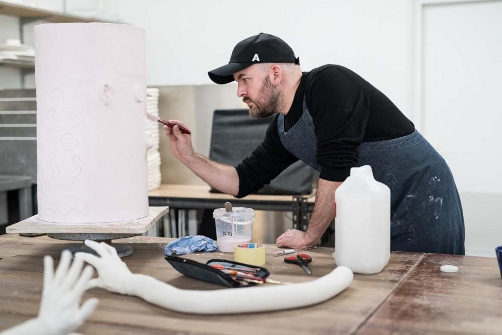Jonathan Baldock Open Studio_Coutesy of Camden Arts Centre_London Craft Week 2019 (2)