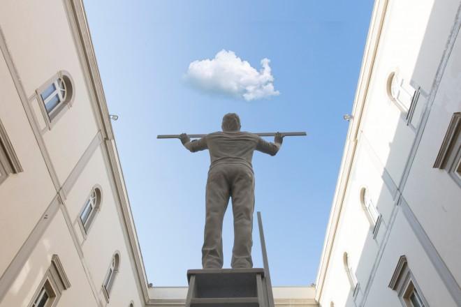 Museo Madre  Jan Fabre. L'uomo che misura le nuvole fotografo: Amedeo Benestante