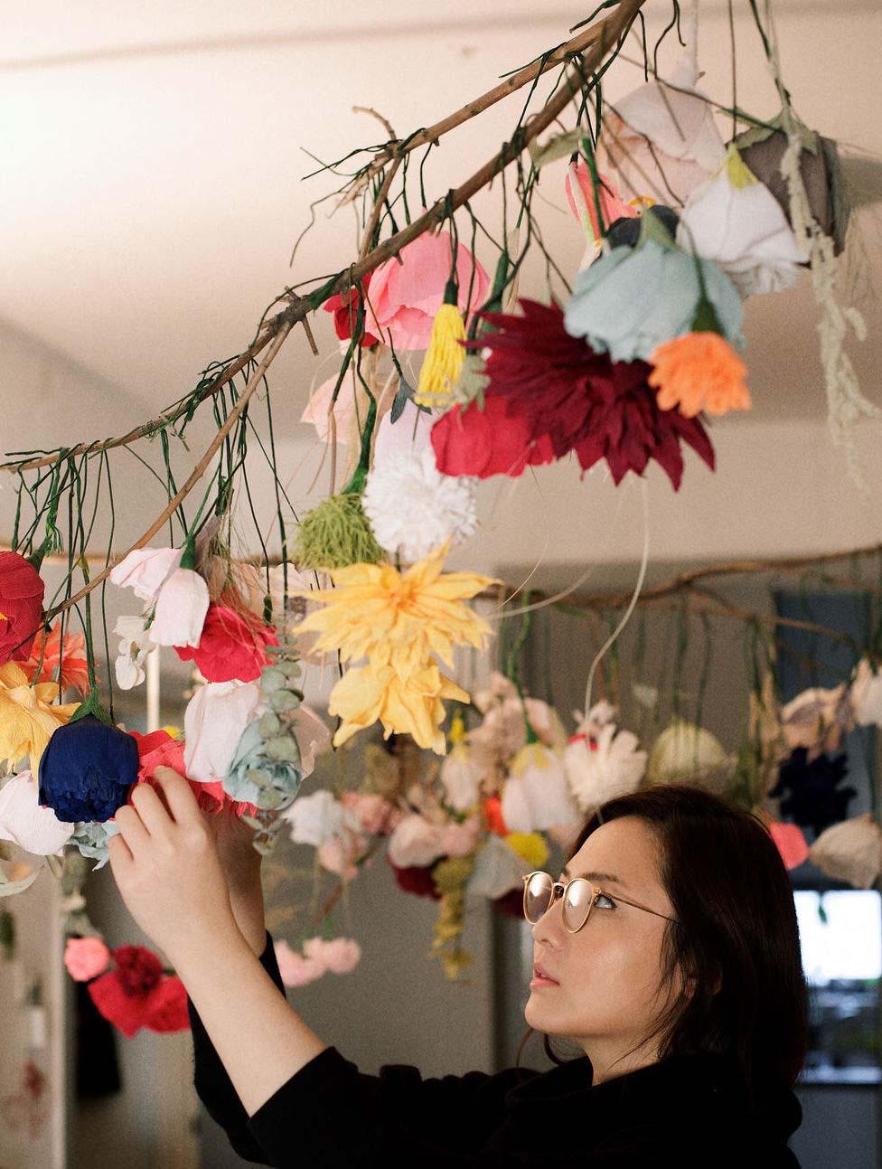 Peony Workshop with Karen Hsu_Courtesy of Karen Hsu_London Craft Week 2019