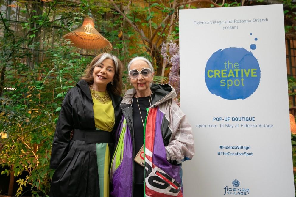 THE CREATIVE SPOT Desirée Bollier e Rossana Orlandi