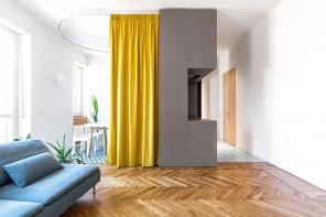Piccolo appartamento trasformabile