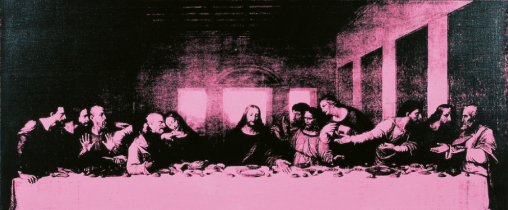 Andy Warhol, The last supper; collezione Creval