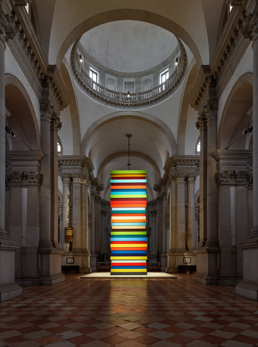 1. Sean Scully, Opulent Ascension, 2019