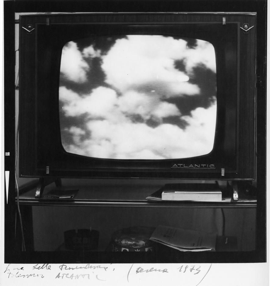 Fine delle trasmissioni - Televisore Atlantic, Cesena 1973