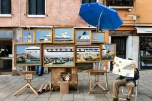A Venezia Banksy potrebbe aver svelato la sua identità
