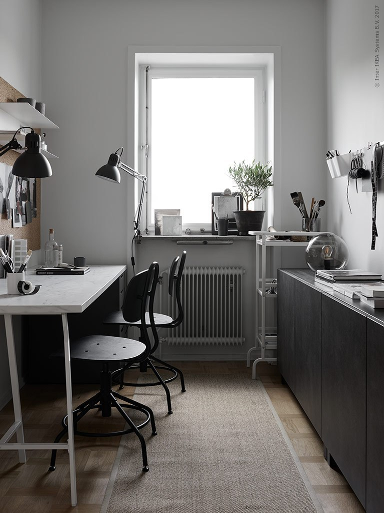8 regole per arredare con stile l'ufficio in casa - Foto ...
