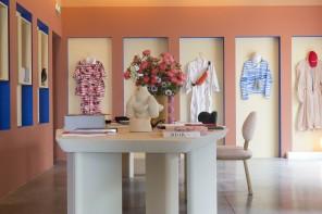 Pierre Yovanovitch, una boutique rosa a Villa Noailles