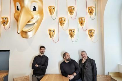 Amor Pizzeria dei Fratelli Alajmo designed by Philippe Starck