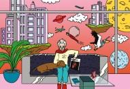 Illustrazioni Ana Tortos per Living