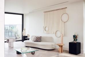 Lo stile sofisticato di un attico a Londra