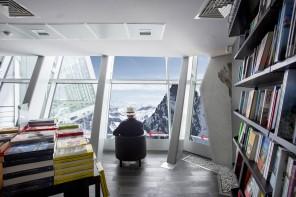 La libreria sul Monte Bianco
