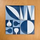 Fattobene_Decori Blu Ponti composizione_CeramicaFrancescoDeMaio_02