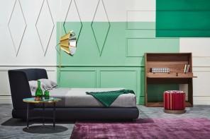 Abbinare i colori sulle pareti della camera da letto