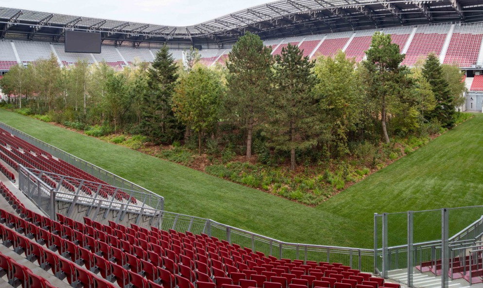 Klaus Littmann, FOR FOREST - The Unending Attraction of Nature, Wörthersee Stadium Klagenfurt, © Gerhard Maurer (3)