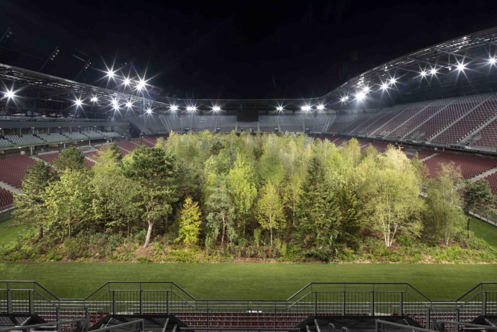 Klaus Littmann, FOR FOREST - The Unending Attraction of Nature, Wörthersee Stadium Klagenfurt, © Gerhard Maurer (4)