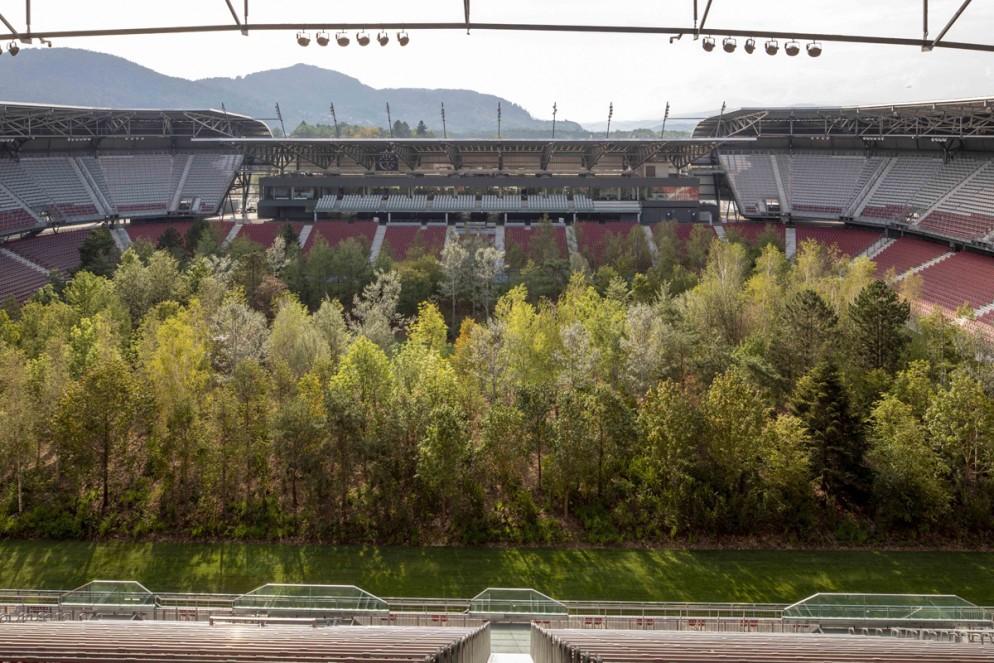 Klaus Littmann, FOR FOREST - The Unending Attraction of Nature, Wörthersee Stadium Klagenfurt, © Gerhard Maurer (5)