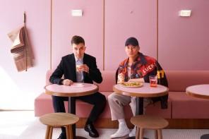 Humble Pizza, il locale total pink nel cuore di Londra