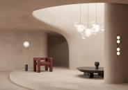 Coppi d giopato e c_Bolle_Frosted_Chandelier_14L_Soffio_Frosted_Floor