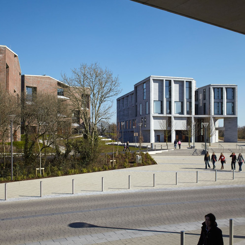 Medical School and Student Housing_ Limerick University_ New Plaza ©Grafton