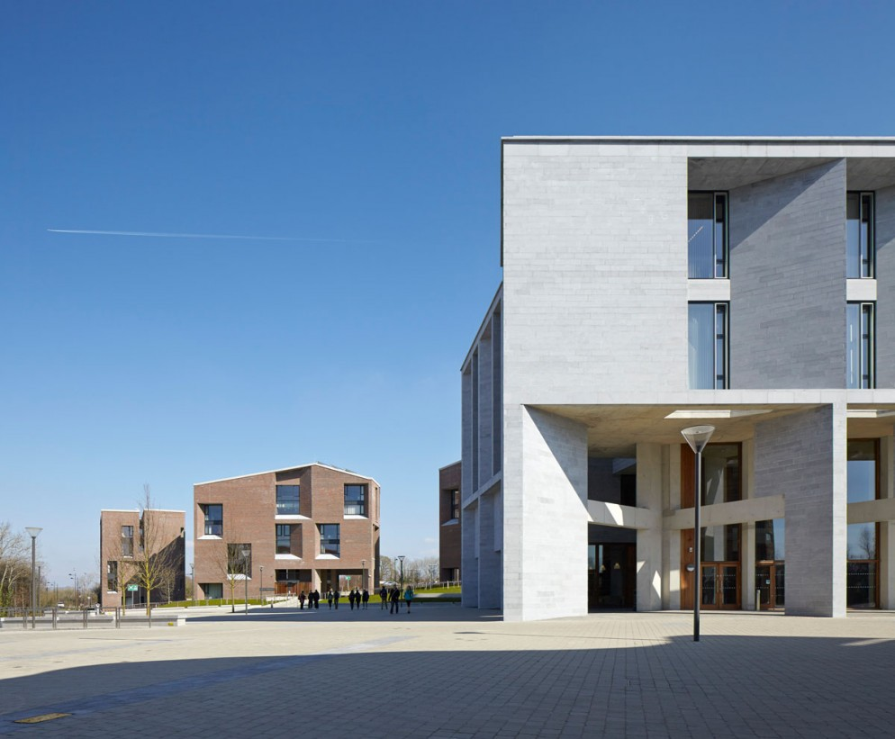 Medical School and Student Housing_ Limerick University_ New Plaza 2 ©Grafton