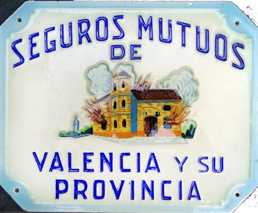 Targa incendio valenciana