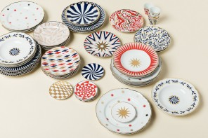 La Tigre disegna una collezione di piatti circensi
