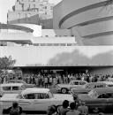 Public Opening of the Frank Lloyd Wright Building, Solomon R. Guggenheim Museum, New York, 10/25/1959