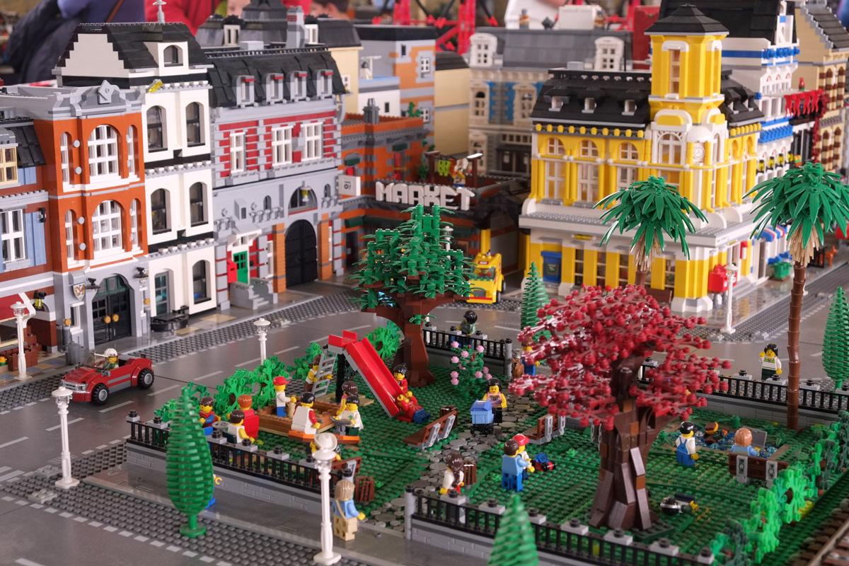 Milano, le foto della mostra I Love Lego