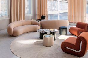 A Parigi l'hotel di Studiopepe è un club pastello