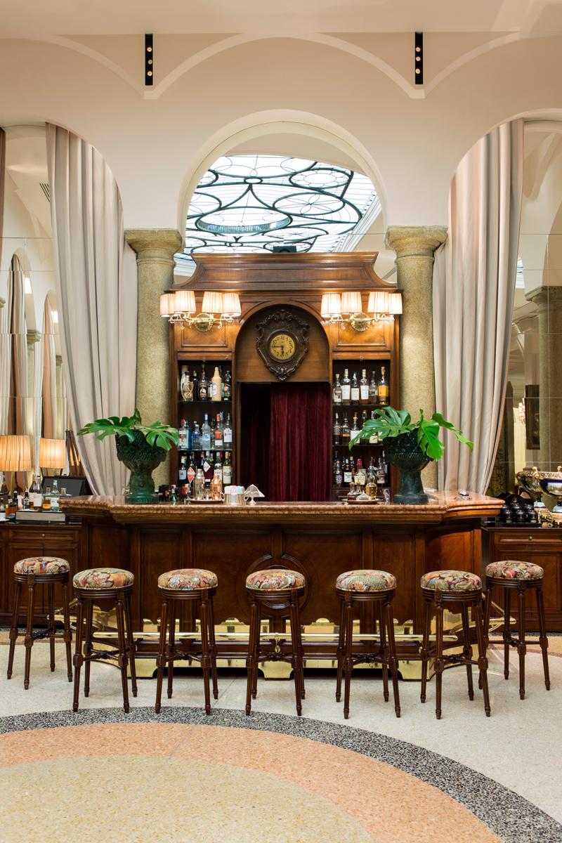 Il nuovo salotto del Grand Hotel et de Milan