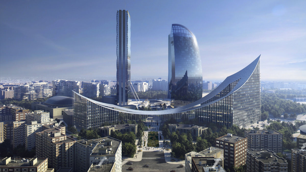 Milano: ecco come sarà CityLife nel 2023 - Living