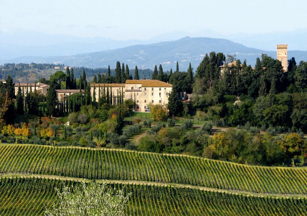 gucci-places-Castello Sonnino 4 - Courtesy of Credits Caterina De Renzis Sonnino - panoramica vigna verde