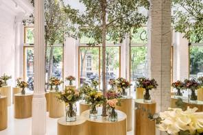 Lo store Colvin a Barcellona è una giungla di bouquet