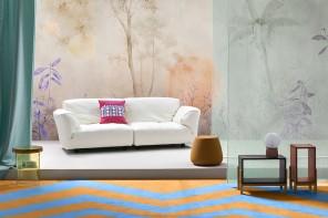 Tramonti, ninfee e bambù: il wallpaper guarda a Oriente