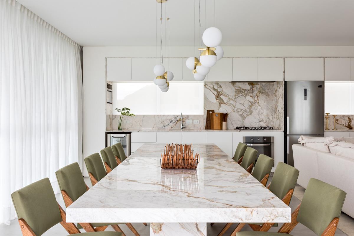 Lampadari Per Casa Al Mare in brasile un appartamento elegante progettato dall
