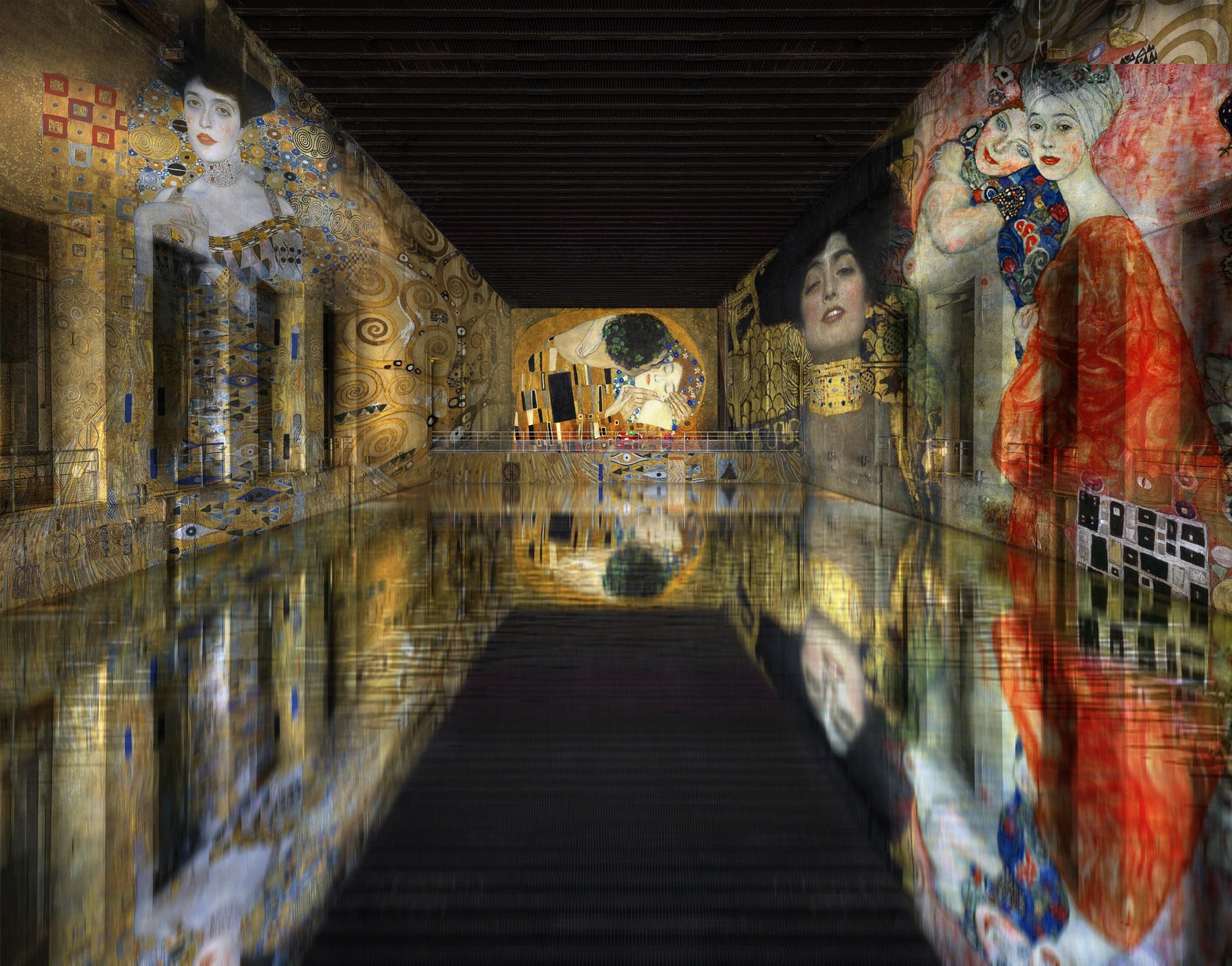 Gustav Klimt. Culturespaces - Nuit de Chine; Erich Lessing; © akg-images