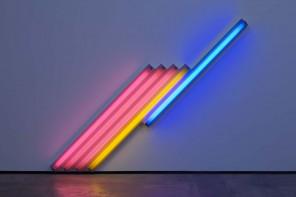 Neon minimalista: Dan Flavin accende Parigi