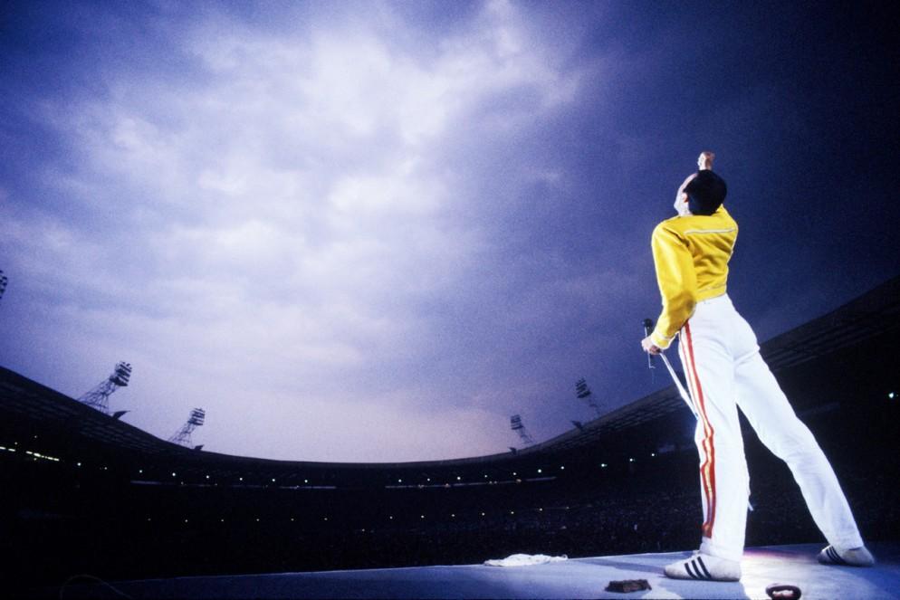 Fredddy Mercury, Wembley Stadium, '86