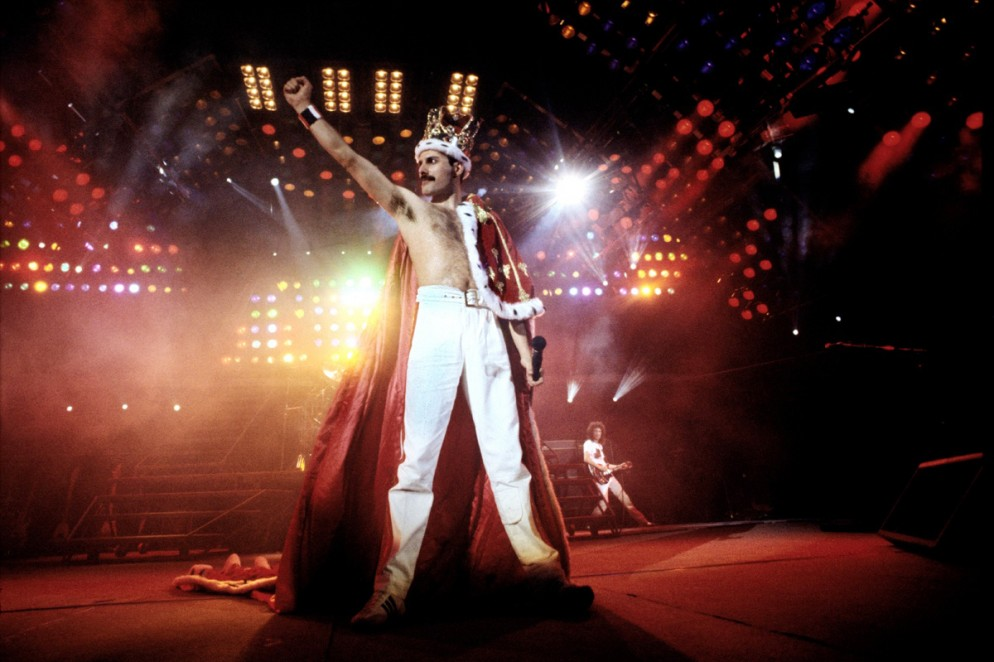 Freddy Mercury, Wembley Stadium, 1986