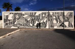Gli amici di Banksy all'opera in Sardegna