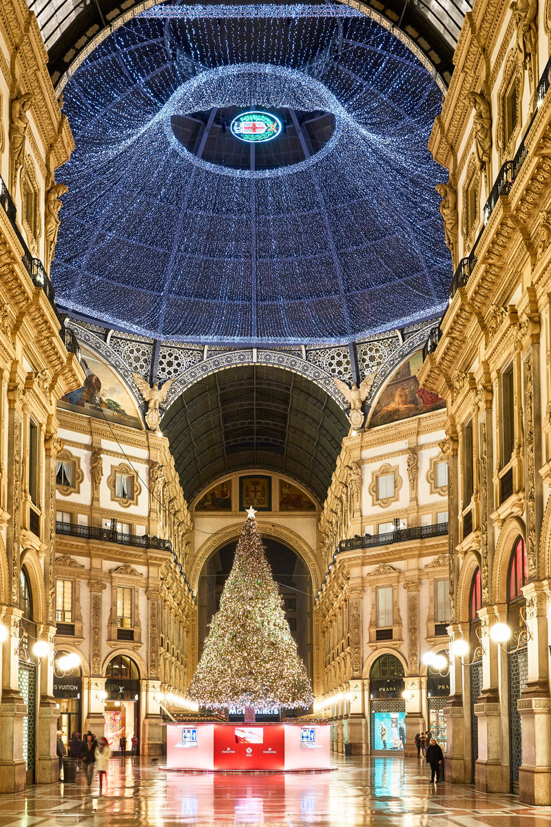 Vetrine Natale 2019 Living Corriere Swarovski 2