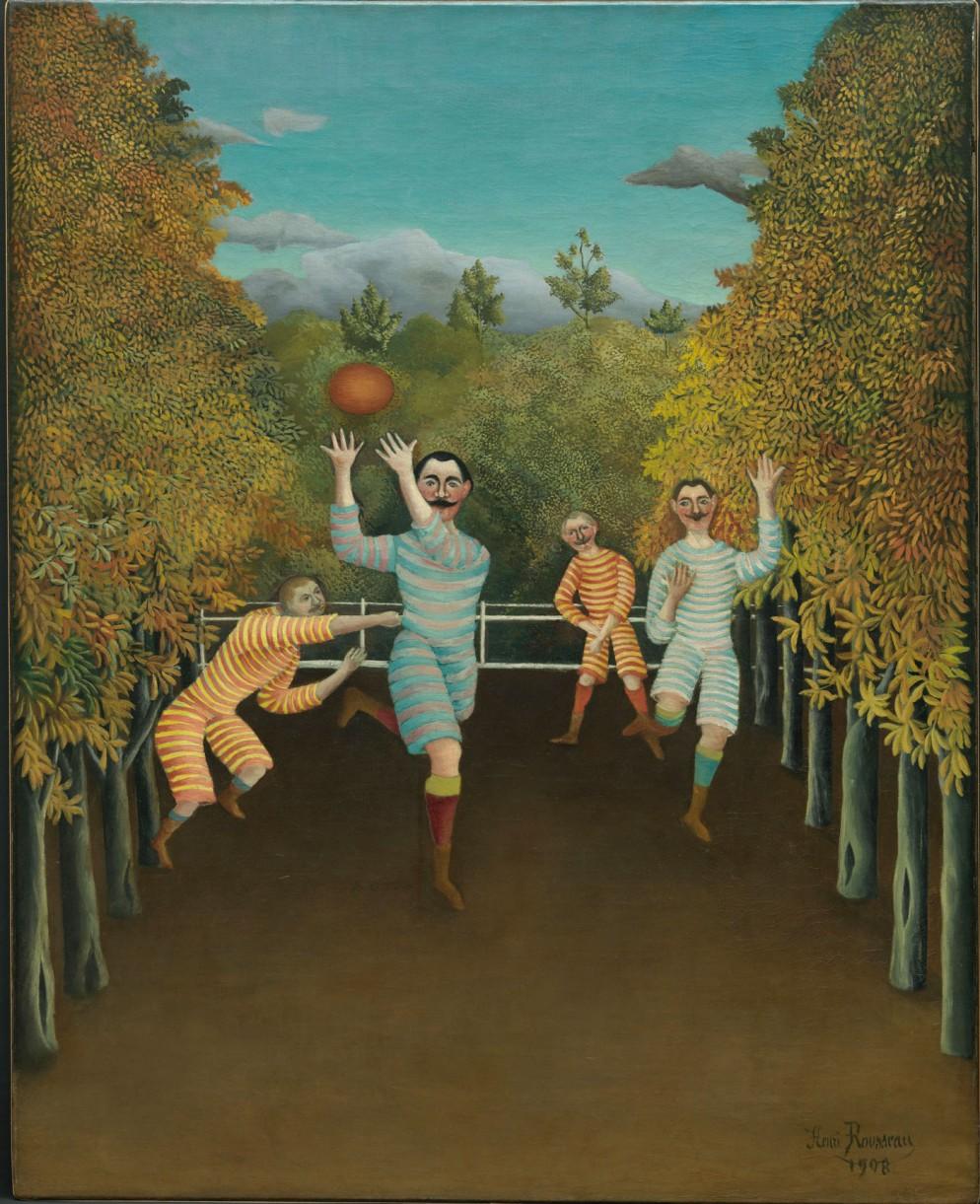 mostre-vacanze-natale-Rousseau-I-giocatori-di-football