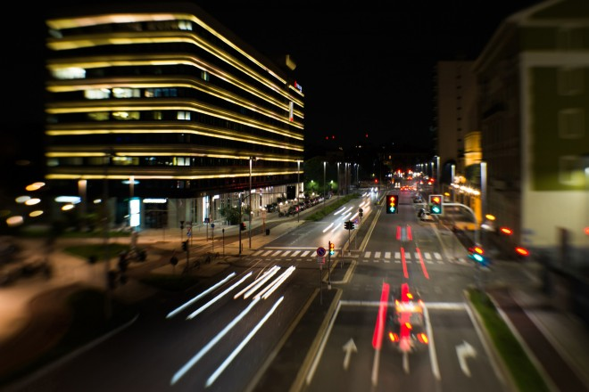 Colori della notte milanese