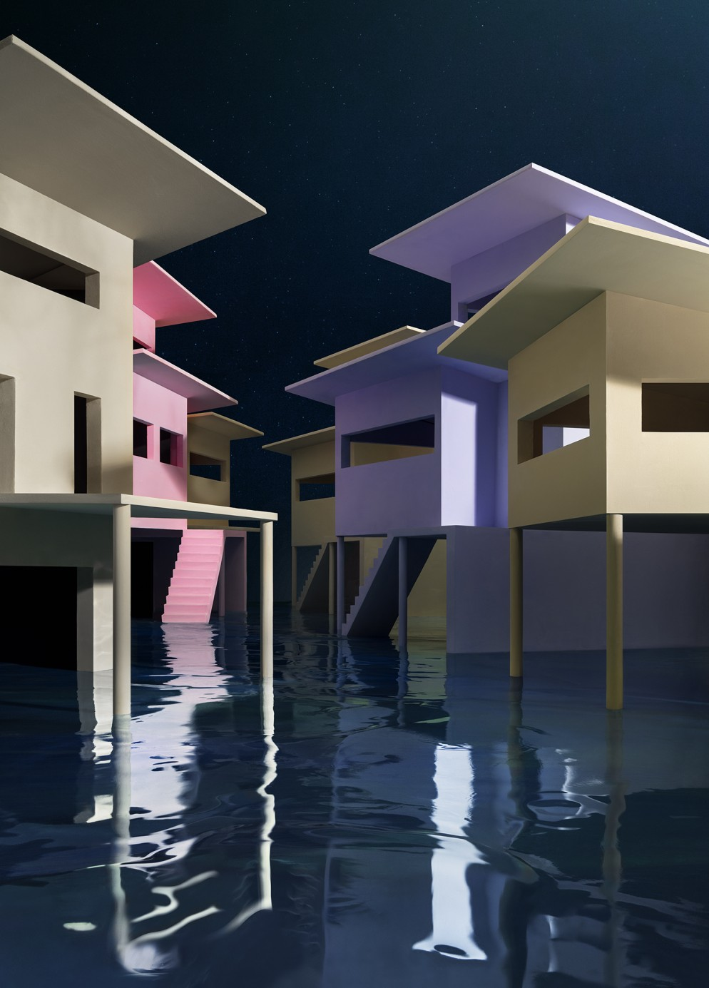 CASEBERE_Flooded Streets_2019_Copyright of the artist_Courtesy Galerie Templon Paris Brussels