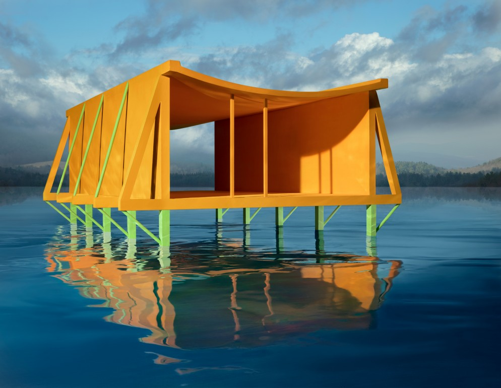CASEBERE_Orange House on Water_Copyright of the artist_Courtesy Galerie Templon Paris Brussels