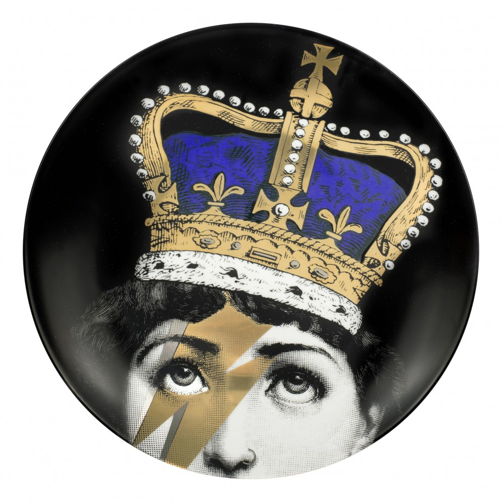 01 FORNASETTI PLATE QUEEN LINA_FORNASETTI AT HARRODS_16AC012566A_230003;1