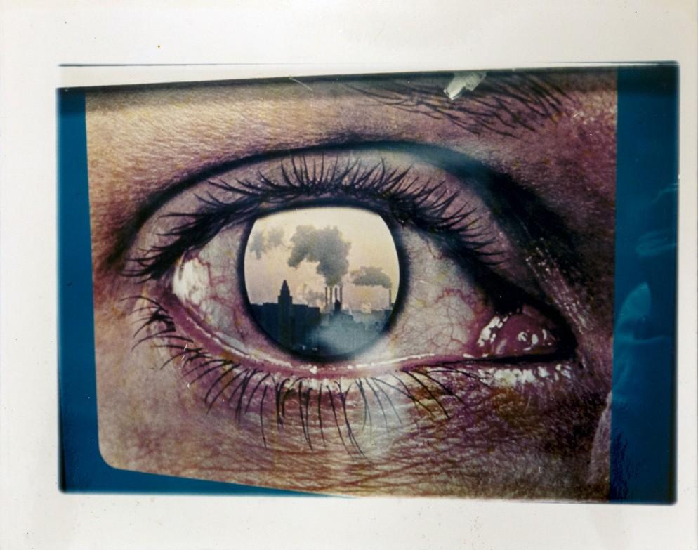 """1_Luigi Ghirri, Dalla serie """"Paesaggi di Cartone, 1971-1974"""", Senza titolo, 1971. Courtesy Collezione Fabio Castel_0"""