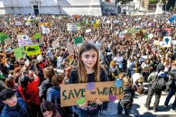 'Global Climate Strike' rally in Rome