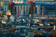 GEORGES POMPIDOU MUSEUM IN PARIS, FRANCE