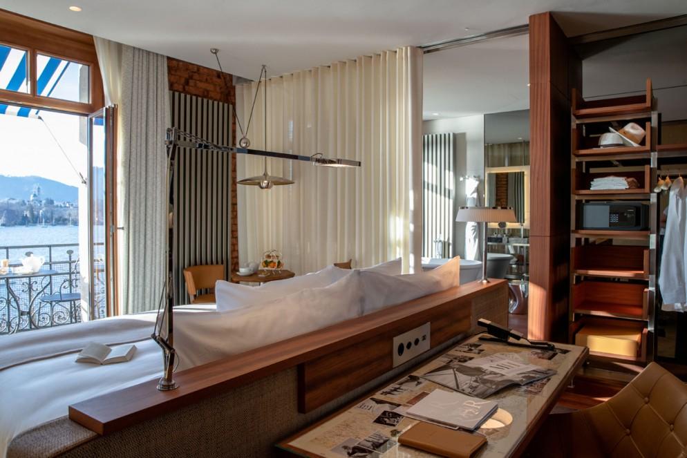 LA RESERVE EDEN AU LAC_ZURICH_2020_Prestige Balcony Room_01_©GREGOIRE GARDETTE